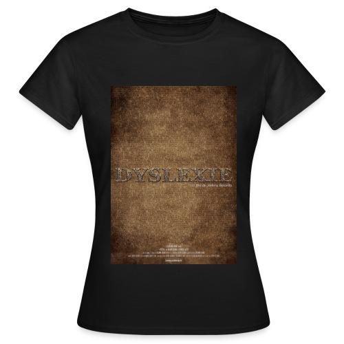 affiche Dyslexie - T-shirt Femme