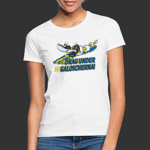Drag under galoscherna. - T-shirt dam