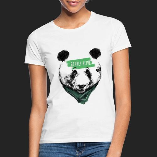 Panda bearly alive - T-shirt Femme