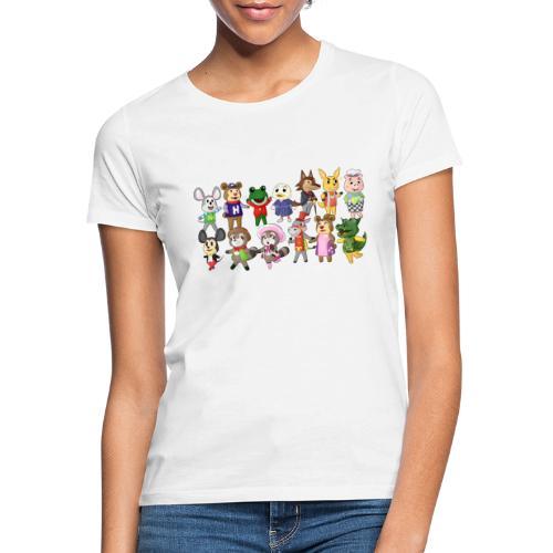 Eilandbewoners - Vrouwen T-shirt