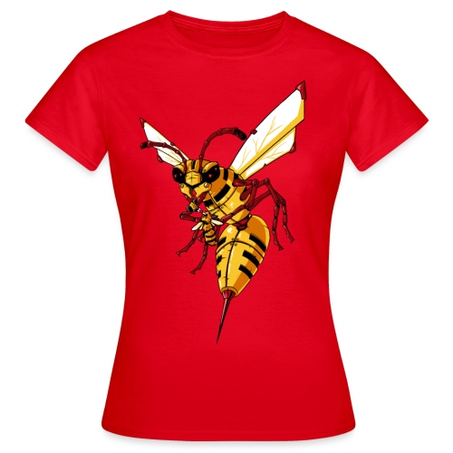 Mechanic Hornet - Frauen T-Shirt