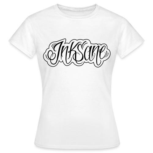 inksane logo los shirt - Vrouwen T-shirt