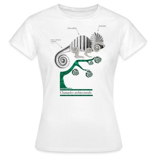chameleo architecturalis - T-shirt Femme