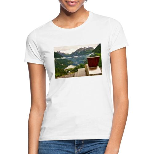 geiranger - T-skjorte for kvinner