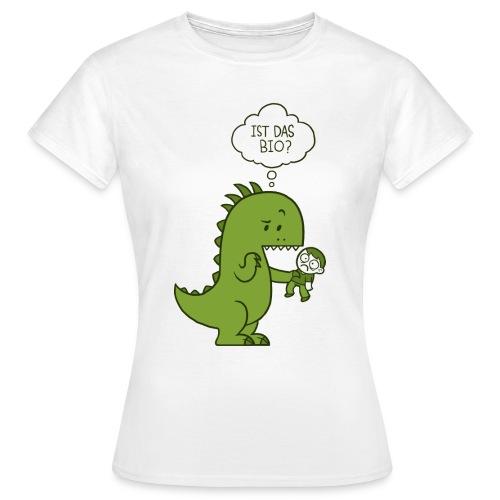 Bio-Dinosaurier - Frauen T-Shirt