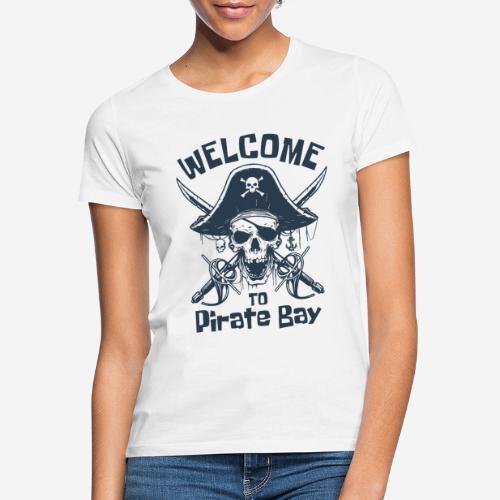 Piratenbucht Seemann - Frauen T-Shirt