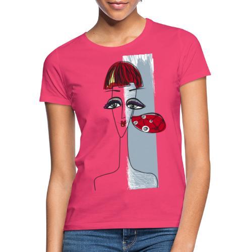 Ragazza con orecchino - Maglietta da donna
