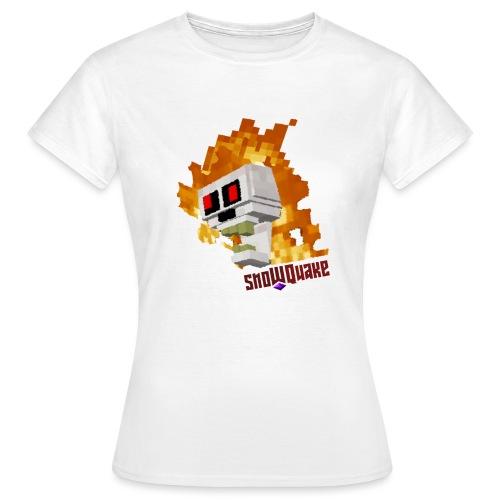 SnoWQuake skull logo - Women's T-Shirt