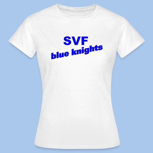 SVF-blue-knights blau - Frauen T-Shirt