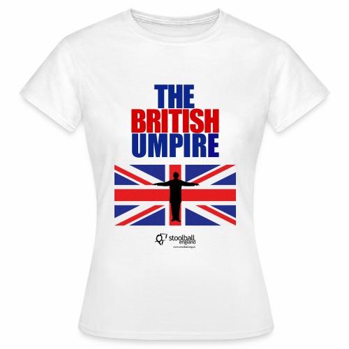 British Umpire - Women's T-Shirt