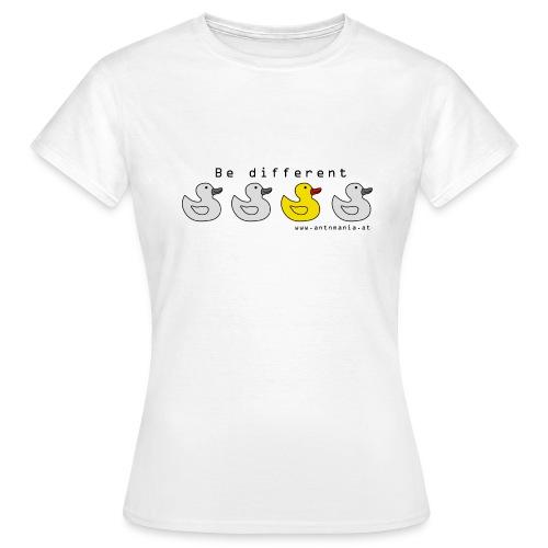 bedifferent png - Frauen T-Shirt