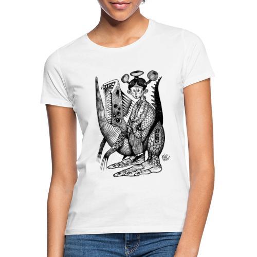 BUE2530 X iorestoacasaArtistiUniti - Maglietta da donna