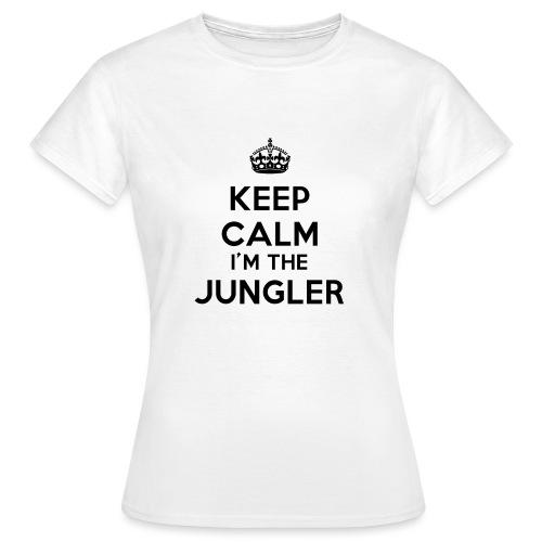 Keep calm I'm the Jungler - T-shirt Femme