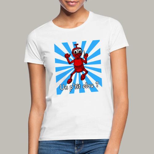 Back to 80's blue - T-shirt Femme