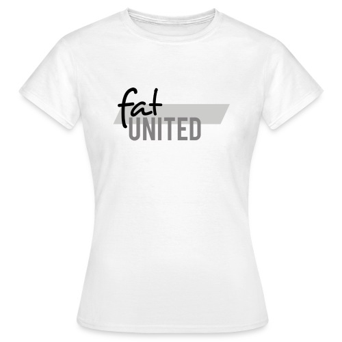 fatunited logo dark 300dpi print - Frauen T-Shirt