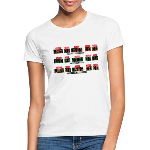 Back To The Future DeLorean Time Travel Console - Women's T-Shirt