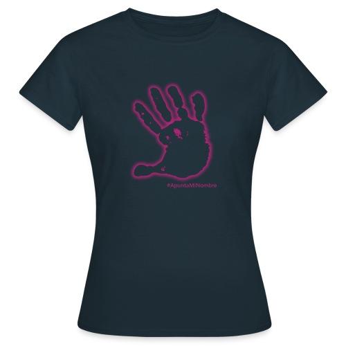 #apuntaminombre - Camiseta mujer