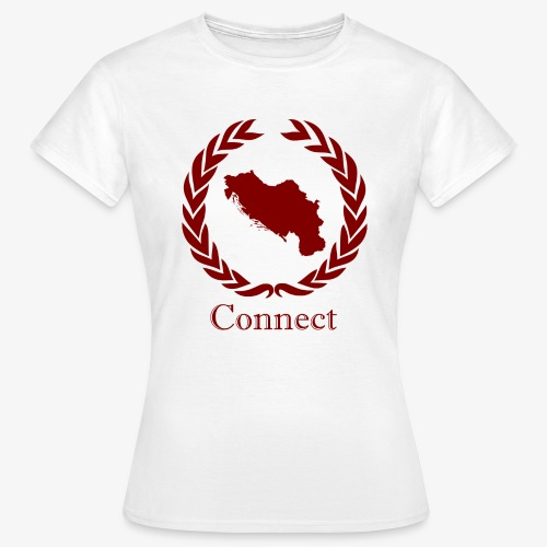 CONNECT COLLECTION LMTD. EDITION RED - Women's T-Shirt