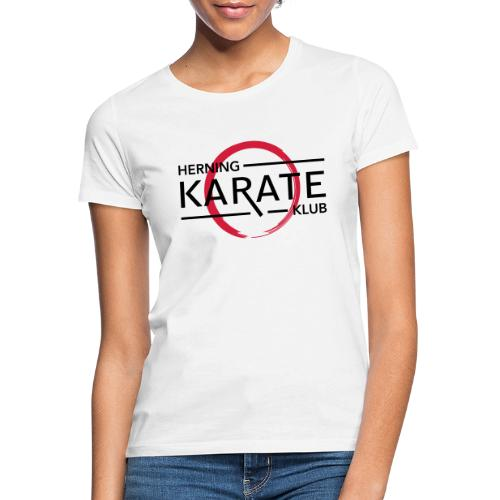 HKK Sort - Dame-T-shirt