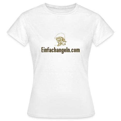 Einfachangeln Teamshirt - Frauen T-Shirt