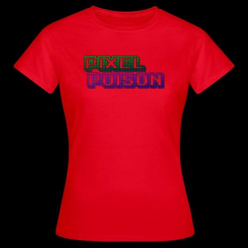 Pixel Poison Logo - Women's T-Shirt