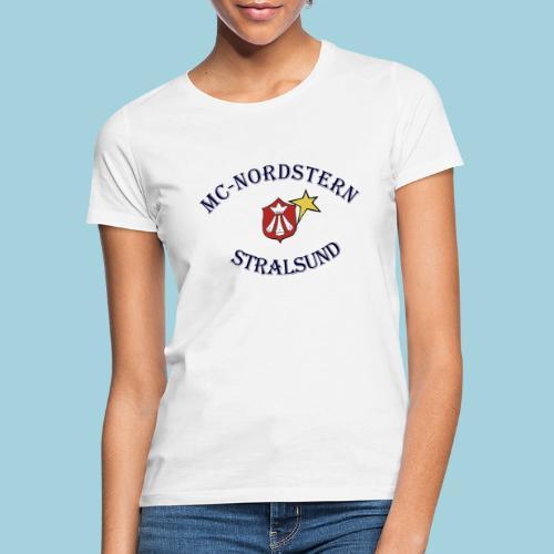 MC Nordstern Schrift gebogen - Frauen T-Shirt