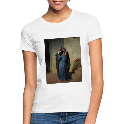 LUCA MGZ X iorestoacasaArtistiUniti - Maglietta da donna