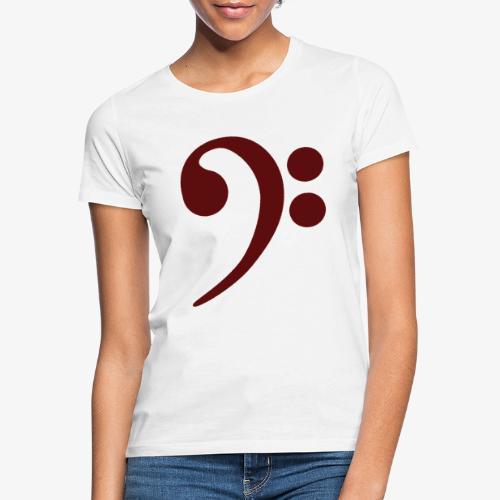 Bass-Key-4 - Frauen T-Shirt