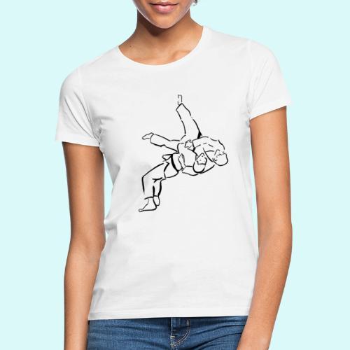 judo - T-shirt Femme
