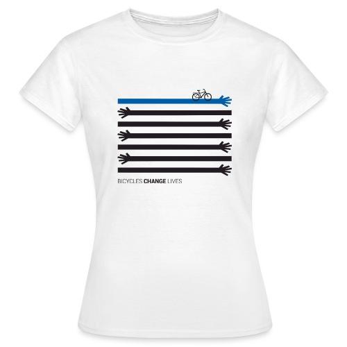 BCL Black Hands One Blue - Women's T-Shirt