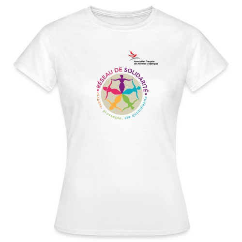 affd visuel identitaire avec logo - T-shirt Femme