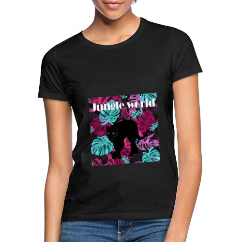 Jungle world panthere c - T-shirt Femme