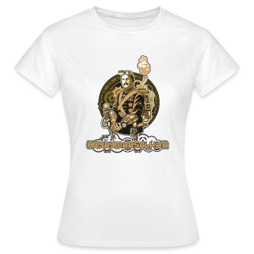 Höyrymarsalkan upea kangaskassi - Naisten t-paita