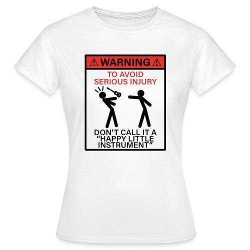 injury happy - Women's T-Shirt