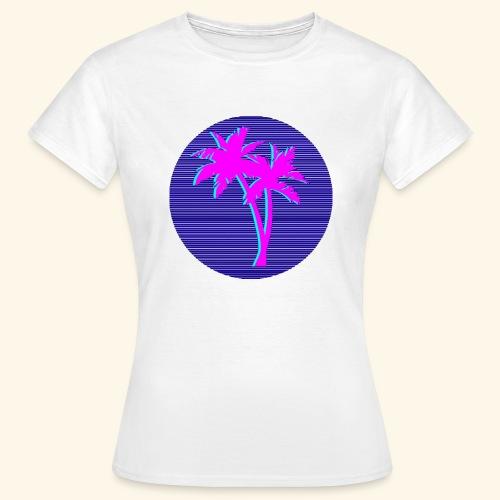 Florida palmtree - T-shirt Femme