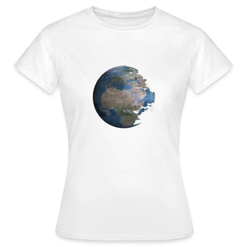 Death Earth - T-shirt Femme