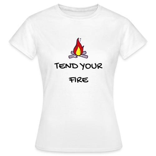 tendyourfire black 1 - Frauen T-Shirt