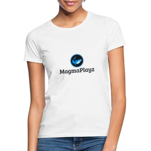 MagmaPlayz shark - Dame-T-shirt