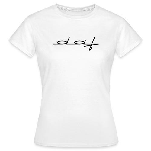 logodafzwart - Vrouwen T-shirt
