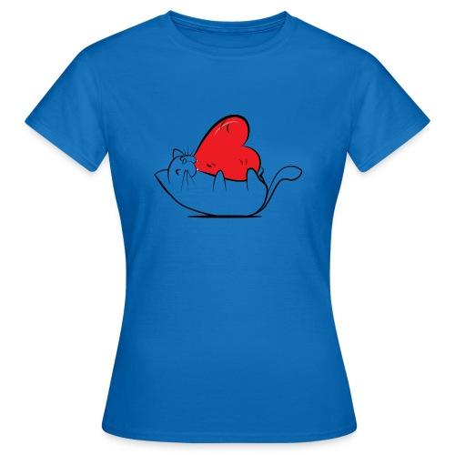 Cat Love - Vrouwen T-shirt
