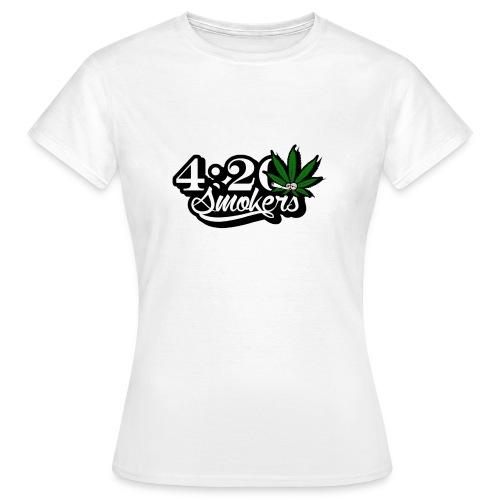 420 smoker - Women's T-Shirt