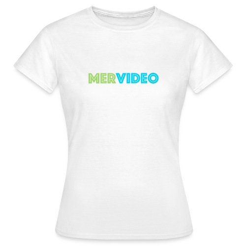 Mervideo - Vrouwen T-shirt