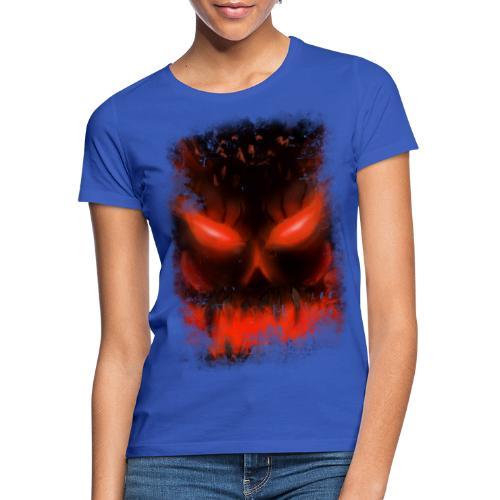 demon skull - T-shirt Femme