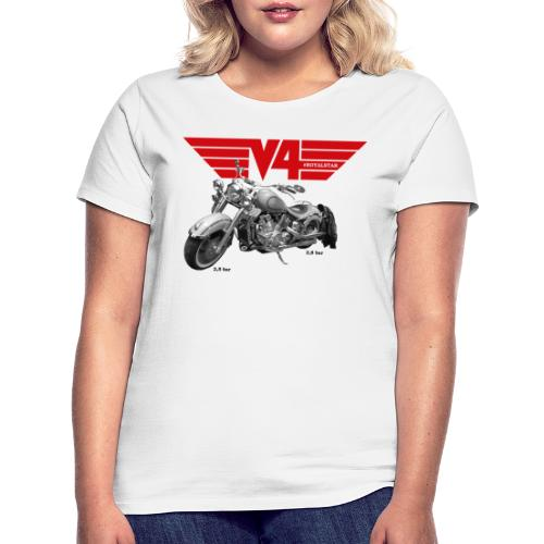 V4 Motorcycles red Wings - Frauen T-Shirt
