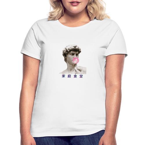 Roman vapor wave Huiskantine - Vrouwen T-shirt