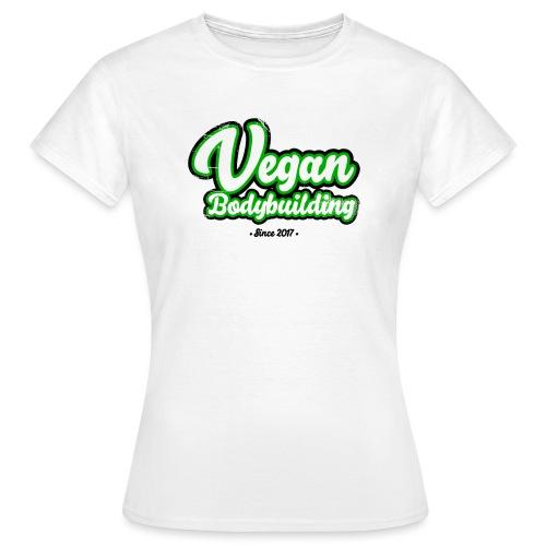 Vegan Bodybuilding -design - Naisten t-paita