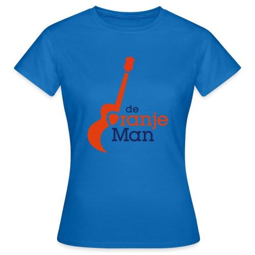 de oranje man wilhelmus hoekstra logo groot - Vrouwen T-shirt