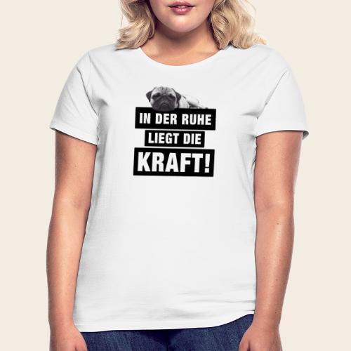mops ruhe 2 - Frauen T-Shirt