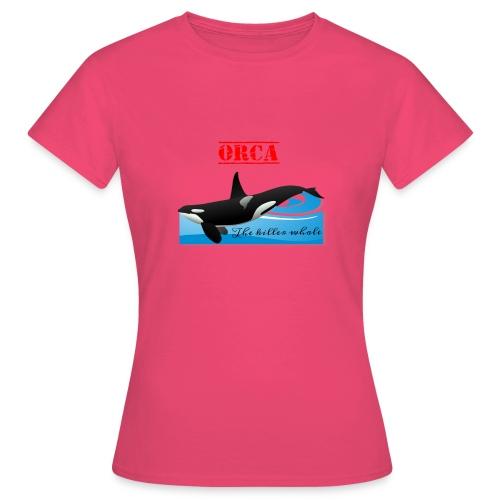 Orca La Balena Assassina Maglietta Uomo Donna 2018 - Maglietta da donna