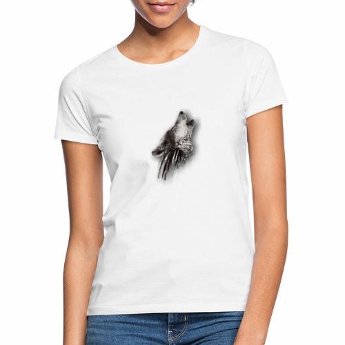 Lobo Degradado - Camiseta mujer